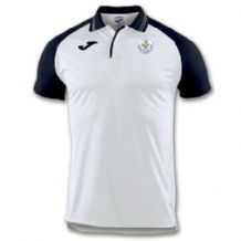 Tralee Tennis Club Joma Polo Torneo II White/Navy Youth 2019
